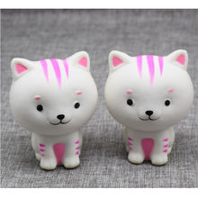Little Milk Cat Squishy Squeeze Cute Healing Toy Kawaii Collection Fun Joke Gift For Kids Children Adult Anti Stress Toys