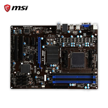 MSI 960-P43 Original Used Desktop Motherboard 760G Socket AM3+ DDR3 32G SATA2 USB2.0 ATX