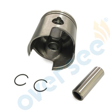 351-00001 55MM Piston kit for Tohatsu Nissan M NS 9.9HP 15HP Outboard engine boat motor brand new aftermarket part