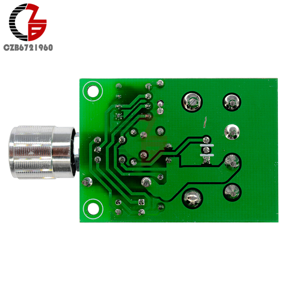 High Power 6A 6V-12V PWM No-Polarity DC Motor Speed Regulator Controller Board Speed Motor Control Switch Board 10