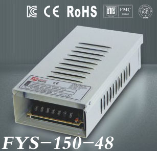 Rain-Proof LED switch power supply Output DC 48V 4.2A 150W power adapter LED switch power supply LED driver (FYS-150-48)<br>