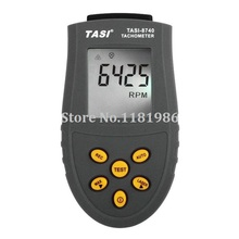 TASI-8740 Non-contact Digital Tachometer rpm meter 2.5~99,999RPM Laser Photo Tachometer Speed measurements Tester(China)