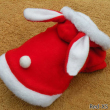 Red Pet Dog Clothes Christmas Costume Cartoon Clothes For Small Dog Cloth Costume Dress Winter Apparel Coat Apparel