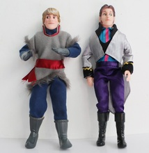 30cm Anime Movie Figure Kristoff Hans Dolls Hans Toys Prince Olaf Gift Doll Toys Hans Kristoff Full Joint Moveable Collection(China)