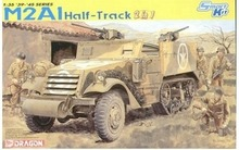 [Dragon] Plastic Model Kit 1/35 M2A1 Half-Track (2 in 1) (6329)