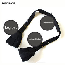 Toughage G-pot Various Sex Positions Plush Fetish Bondage Strap Erotic Hand Ankle Slave Foot HandCuffs Sex Furniture for Couples