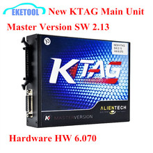 KTAG Main Unit HW6.070 High Quality Excellent PCB Board Mater Version SW 2.13 New K TAG ECU Chip Tuning Tool No Tokens Limited