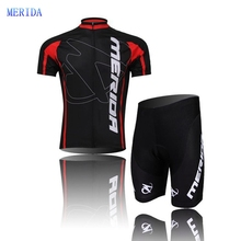 2017 Merida Cycling Clothing / Cycling Jersey /Bicycle Team Roupa Ciclismo bike Outdoor bicicleta Sportswear Short Sleeve Suite(China)