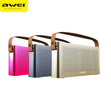 Awei Y300 Portable Bluetooth Speaker Handbag Design Wireless 3D Stereo Loudspeakers Bass Sound Box Hand Free for PC Mobile Phone