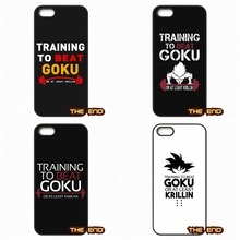 For Sony Xperia M2 M4 M5 C C3 C4 C5 T3 E4 Z Z1 Z2 Z3 Z3 Z4 Z5 Compact Training to Beat Goku Or Krillin Mobile Phone Case Cover