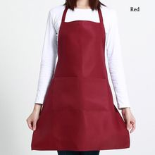 1PCS Catering Plain Anti-Fouling Useful Kitchen Accessories Apron With Pockets Butcher Craft Baking Chefs Kitchen Cooking BBQ