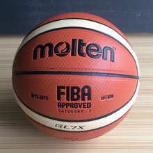 2017 Hot Sale Outdoor Indoor Molten GL7X Basketball Ball PU Leather Material Official Size 6 Basketball Free Net Bag+ Needle