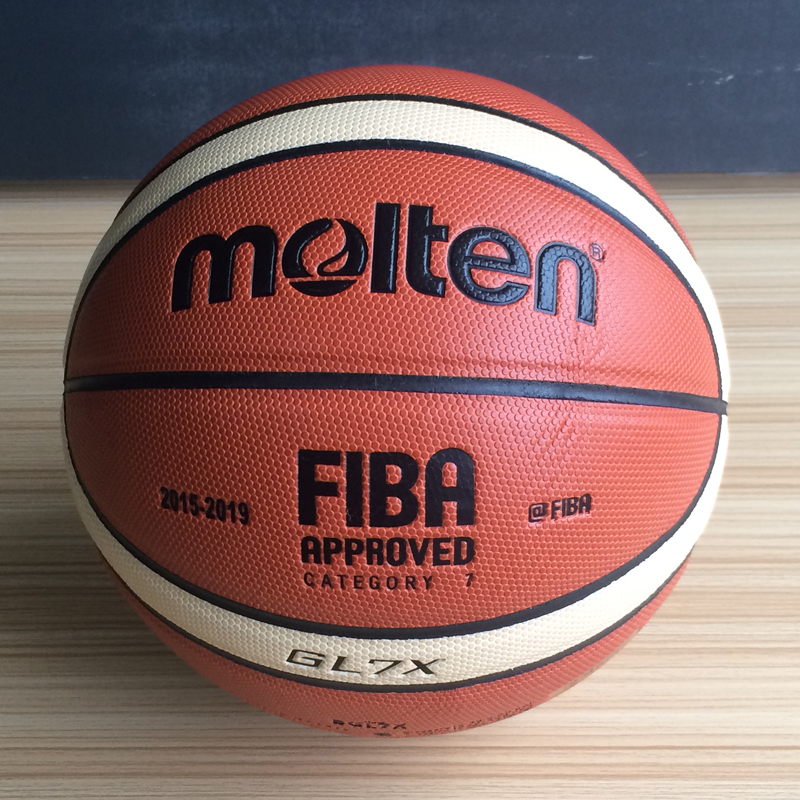 2017 Hot Sale Outdoor Indoor Molten GL7X Basketball Ball PU Leather Material Official Size 6 Basketball Free Net Bag+ Needle(China)