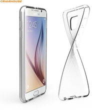 Transparent Case For Samsung Galaxy J1 J3 J5 J7 A3 A5 A7 2016 2015 2017  J1 mini J2 s8 soft Gel TPU phone cover shell thin