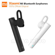 Original Xiaomi Mi Bluetooth 4.1 Headset earphone wireless Youth Edition Xiaomi Bluetooth Handsfree Earphone with Build-in Mic
