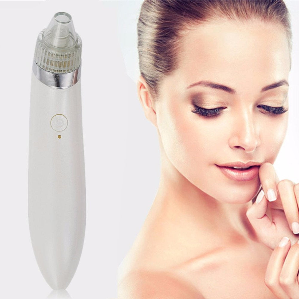 Pro Ultrasonic Vibration Electric Blackhead Vacuum Suction Remover Vacuum Face Pore Spot Cleaner Beauty Facial Skin Care Tool 12