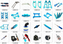 HSP Baja Parts Upgrade Acessories Spare Aluminum Alloy Metal For Himoto 1/10 4WD RC Model Car Off Road Monster Truck 94188