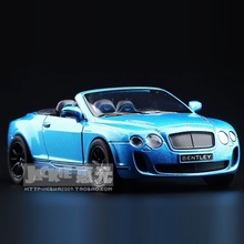 High Simulation Exquisite Diecasts&Toy Vehicles: KiNSMART Car Styling Bentley Continental GT 1:38 Alloy Diecast Model Toy Car