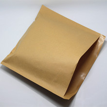 50Pcs/ Lot 25*25cm Brown Greaseproof Cookies Kraft Paper Pack Pouch Bread Sandwich Snack Oil-Proof Retro Craft Paper Storage Bag