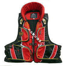 "Gear manufacturers to ""rock fishing lifejackets"" adult lifejacket professional fishing marine clothing(China)"