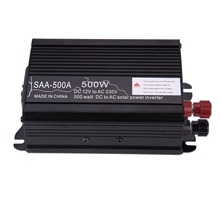 Mini Off Grid Pure Sine Wave Inverter 500W New 12V DC-230V AC 500W Car Solar Power Inverter Modified Conventer