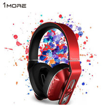 Original 1more MK802 bluetooth wireless Headphones wireless headset super Bass HIFI Headset For PC apple meizu huawei xiaomi