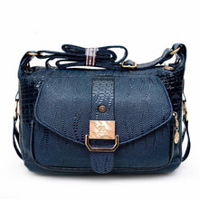 Lady PU Leather Shoulder Bag Women Handbags Bolsas Women Messager Bags 2018 New Fashion Mom Crossbody Bags By Just Follow(China)
