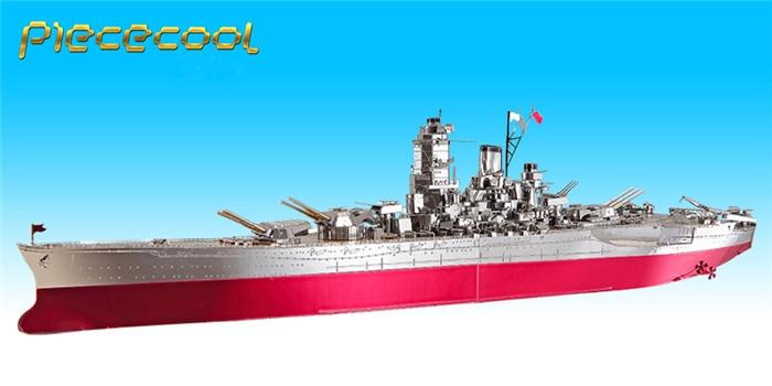 сборная модель военный корабль Yamato