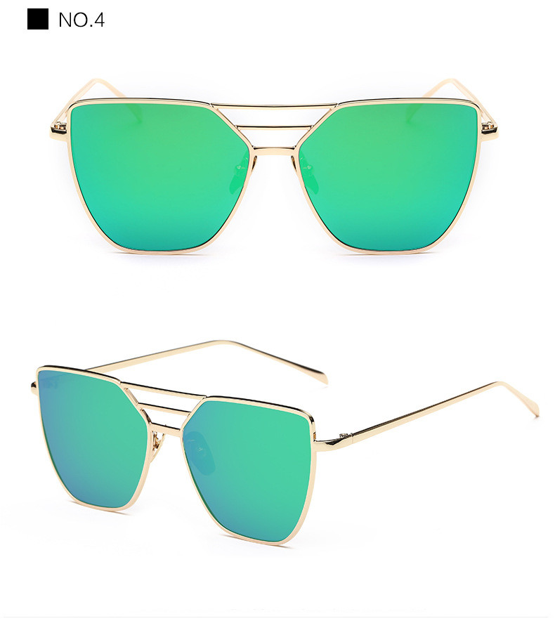 High Quality Cat Eye Sunglasses Women Brand Designer Driving Summer Sun Glasses Women Female Lady Sunglass Mirror Vintage Retro (12)
