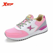 XTEP Brand 2016 New Lightweight Running Shoes for Women Sports Shoes Wholesale Running Athletic Ladies Sneakers 985218113976