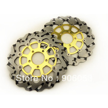 Front Brake Disc for Suzuki GSXR600 V/W/X/Y 97-03 GSXR 750 96-03 Motorcycle Parts 96 97 98 99 00 01 02 03(China)