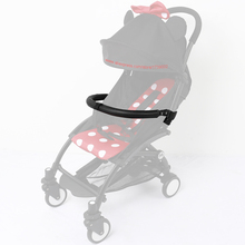 New Baby Stroller Armrest Bumper Bar Handlebar Leather Cover Accessories For Babyzen YOYO YOYO+ YOYA Bugaboo Bee 3 5 Pram(China)