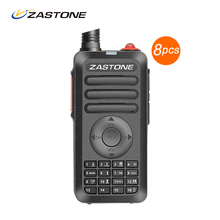 8PCS Zastone ZT-X68 Walkie Talkie Better Than Baofeng  888s CB Radio 16CH 5W UHF Portable Handheld Radio Communication Equipment