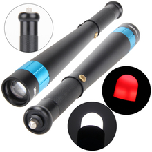High Quality Flashlight 3 Mode Black Portable Security Change Color Baseball Torch Lamp Outdoor Hiking Camping Light