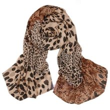 IMC Women Soft Shawl Animal Print: leopard Scarves Stole