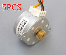 5PCS/LOT NMB N35 Micro Stepper Motor 2 Phase 4 Wire Small Circular Stepping Motors(6.8)