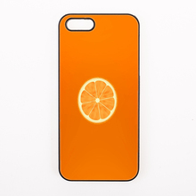 simple natural Tempting fruit Orange slices Hard Back Cover Phone Case For iphone 4 4s 5 5s 5c se 6 6S plus 7 7 Plus iPod Touch