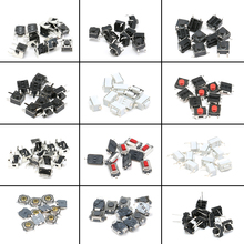 120pcs 12 types SMD Assortment Kit Momentary Tact Tactile Push Button Switch Sets Life 100000 times High Quality(China)