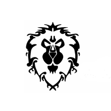 15cm x 13cm Giant Lion Avatar Funny Car Sticker For Truck Window Bumper Auto SUV Door Laptop Kayak Vinyl Decal
