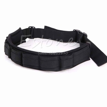 Adjustable Photograph Camera Waist Belt Sling Hang Strap Holder Lens Bag Black -R179 Drop Shipping