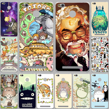 cartoon My Neighbor Totoro Case for Xiaomi Mi 6 5 5s Plus Redmi Note 2 3 3S 4 4X 4A Pro Prime mi6 mi5 Meizu M3 M2 Note Mini