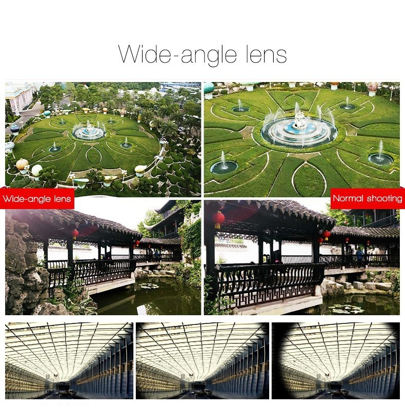 Fisheye Lens 3 in 1 mobile phone clip lenses fish eye wide angle macro camera lens for iphone 6 6s plus 7/7 plus xiaomi huawei 14