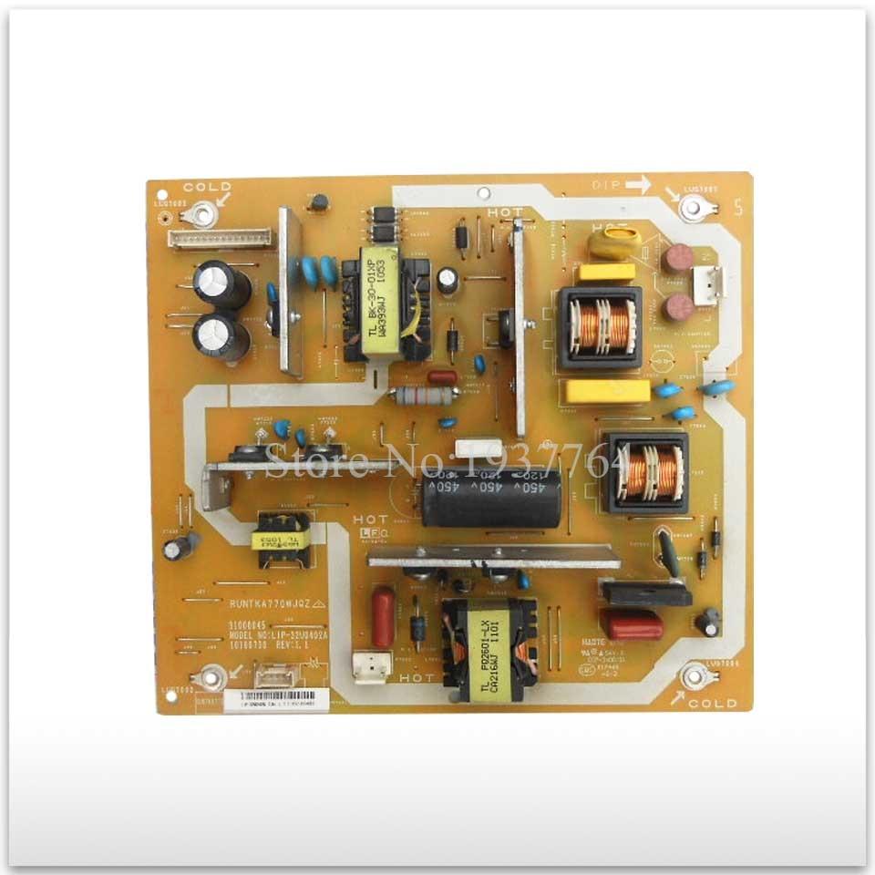 Original power supply board LCD-32G120A RUNTKA770WJQZ 31000045 LIP-32U0402A good working<br>