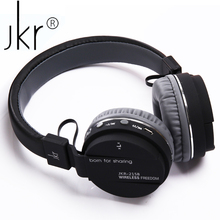 Buy JKR 215B Wireless Blutooth Headphone Bluetooth Hifi Earphone Auricular Big Casque Cordless Headset Smartphone Computer for $17.74 in AliExpress store