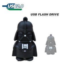 Wholesale usb flash drive U Disk pen drive Star wars darth vader 4GB 8GB 16GB 32GB 64GB flash memory stick pendrive cute cartoon(China)