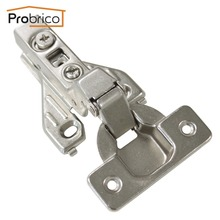 Probrico 20 Pair Soft Close Insert Face Frame Cabinet Hinge CHRH04HC Kitchen Furniture Concealed Cupboard Door Hinge(China)