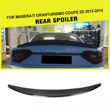 Car Style Carbon fiber Racing Rear Trunk Spoiler Wing Fit for Maserati GranTurismo Coupe 2-Door 2012-2014 ( fit Cock Trunk )(China)