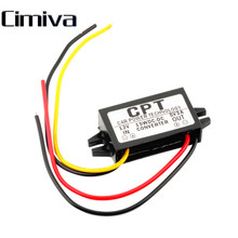 Cimiva DC12V to DC 5V 3A 15W  Car Led Display Power Converter Regulator Module Duble USB Output Power Adapter free Drop shipping