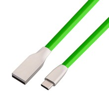 Buy 3D Zinc Alloy USB Type C Cable Fast Charging Data Cable Type-C USB Charger Cable Nexus 5X 6P One Plus 2 3 LG G6 HTC 10 for $2.99 in AliExpress store