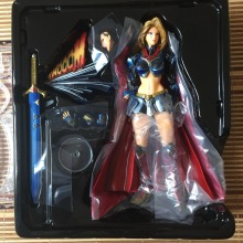 Play Arts Kai Dawn of Justice Super Girl Action Figure High Quality Collection For Collector